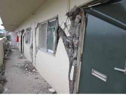 非構造壁の破壊