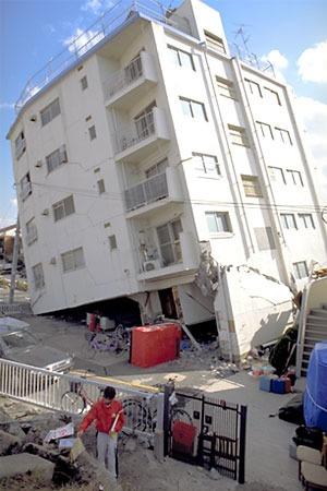 建物の倒壊