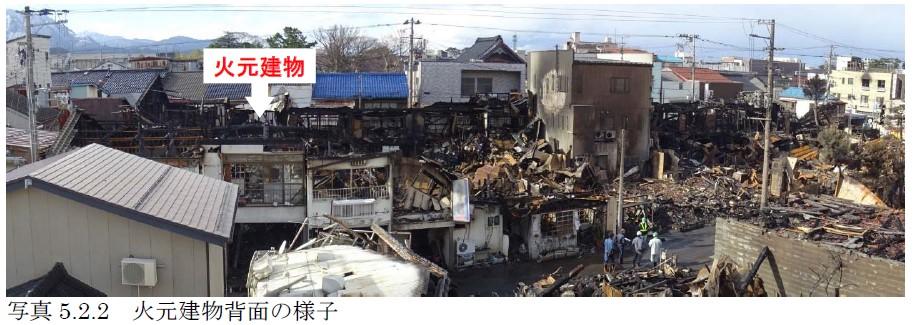 糸魚川市における大規模火災