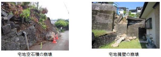 熊本地震による宅地被害