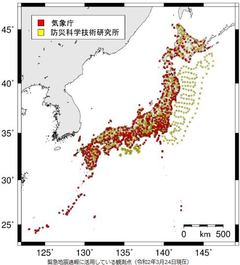地震観測網