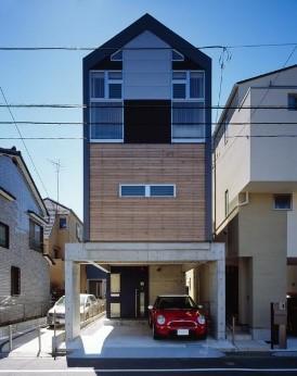 1階RC造+2,3階木造