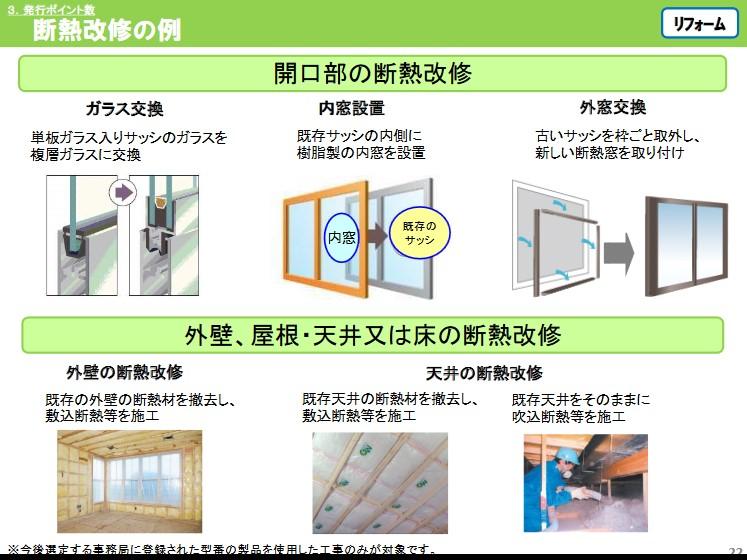 断熱改修の例