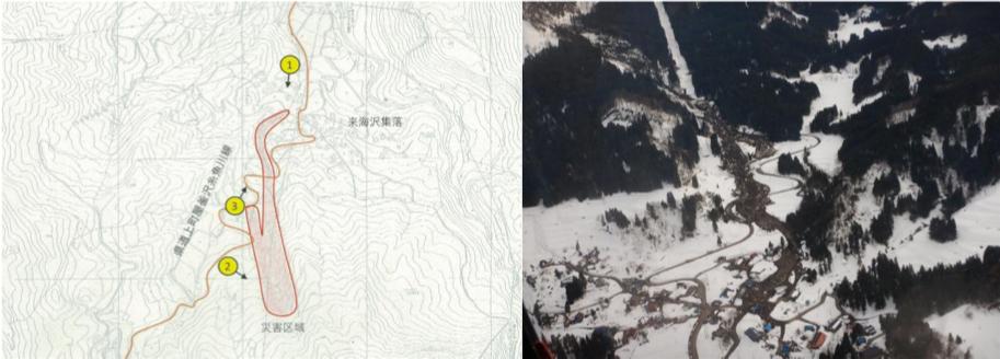 糸魚川市来海沢(くるみさわ)地区の地すべり災害について