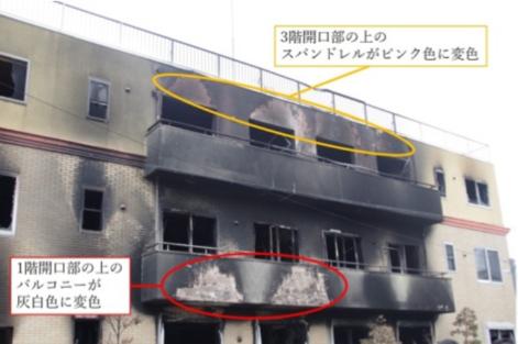 火災でもコンクリートは大丈夫か?